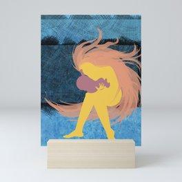 Baby Embrace Layout Mini Art Print