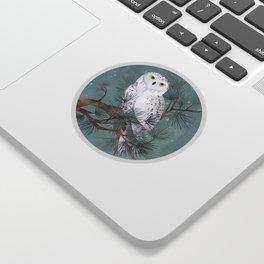 Snowy Sticker