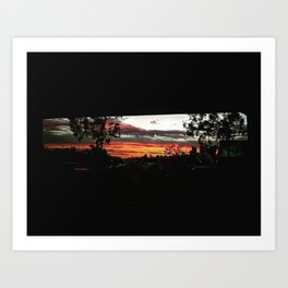 Summer Nights Art Print