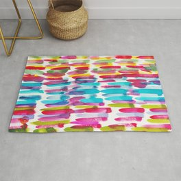 4  | 191128 | Abstract Watercolor Pattern Painting Rug