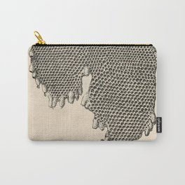 Honeycomb Frame Carry-All Pouch