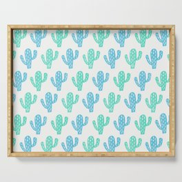Zion Cactus Serving Tray