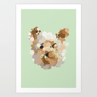 terrier Art Prints featuring Terrier  by Glen Gould