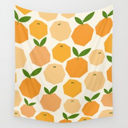 Orange Wall Tapestry