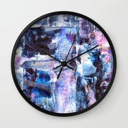 Winter Circus Wall Clock
