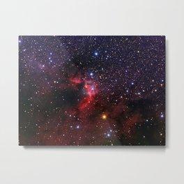 Cave Nebula Metal Print