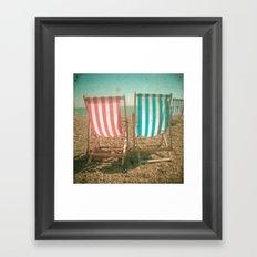 The View Framed Art Print