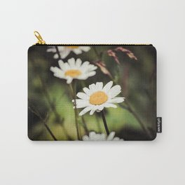 Daisies in the Garden Carry-All Pouch