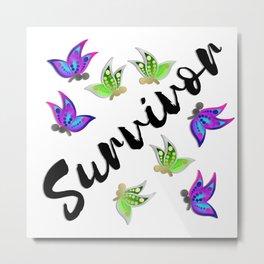 Survivor Metal Print