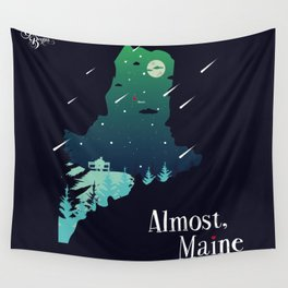 Almost, Maine Wall Tapestry