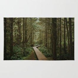Temperate Rainforest Trail Rug