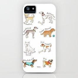 Breeds of Dog iPhone Case