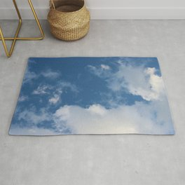 Clouds and Blue Sky Rug