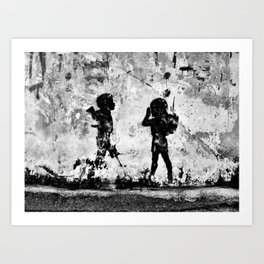 Toy Soldiers Art Print