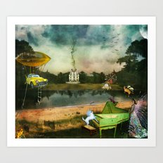 To Wish Impossible Things Art Print