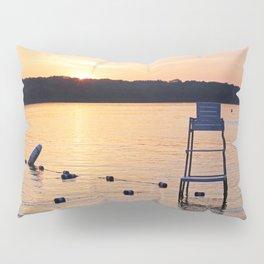 Summer Sunset Over Lake Pillow Sham