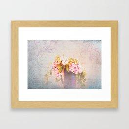 Romantic Whispers Framed Art Print
