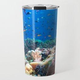 Coral Sea Photo Print Travel Mug