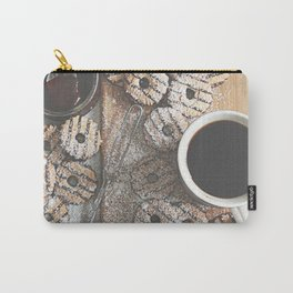 Coffee & Cookies Carry-All Pouch
