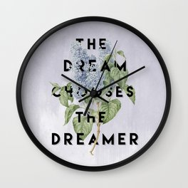 Strange the Dreamer Wall Clock
