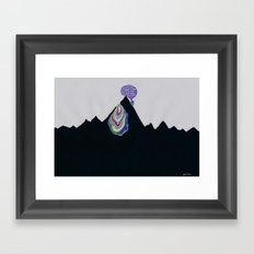 Caveat Emptor, Oh, Summit Seeker (or, Thanks for the Bucket List, ehow.com) Framed Art Print