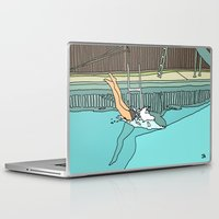diver Laptop & iPad Skins featuring Diver by Highly Anticipated