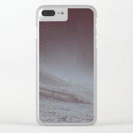 wind blown Clear iPhone Case