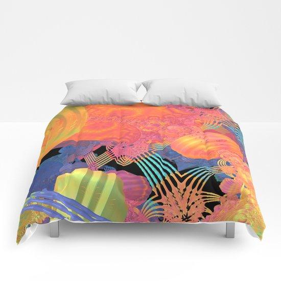 Mardi Gras Comforters