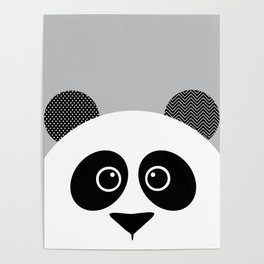 panda nursery wall art kids room art zoo animal wall decor home decor decorating ideas Poster