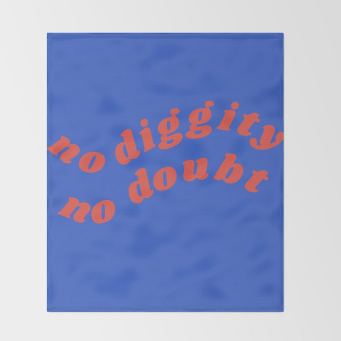 no diggity Throw Blanket