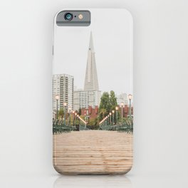 Falling in Love with San Francisco iPhone Case
