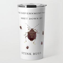 Government Stink Bugs Travel Mug