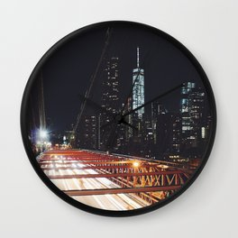 New York 02 Wall Clock