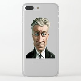 Celebrity Sunday ~ David Lynch Clear iPhone Case