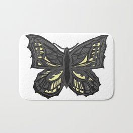 The Beauty in You - Butterfly #1 #drawing #decor #art #society6 Bath Mat