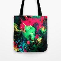 splash Tote Bags featuring Splash by RIZA PEKER