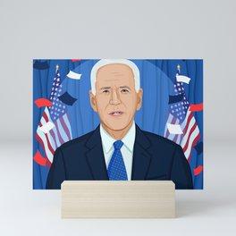 Joe Biden Mini Art Print