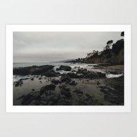 Laguna Coast. Art Print