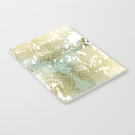 Fractured Gold Notebook