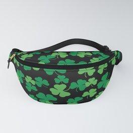 St. Patricks day clover pattern Fanny Pack