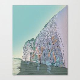 Mazinaw Rock Canvas Print