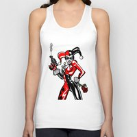 harley Tank Tops featuring Harley by Chris Thompson, ThompsonArts.com