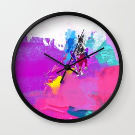 polo abstract Wall Clock