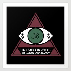 The Holy Mountain by Alejandro Jodorowsky Art Print