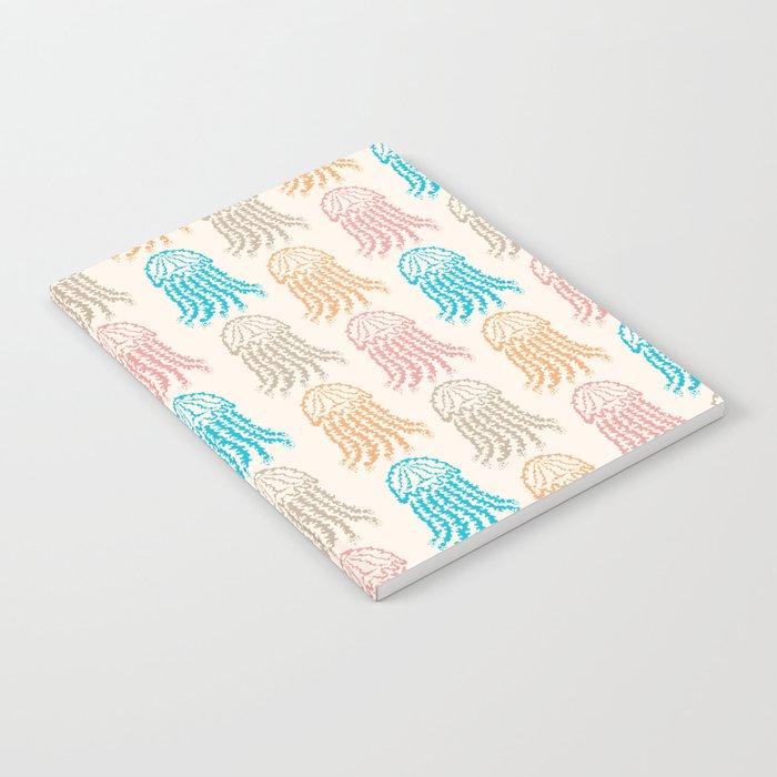 Pastel Marine Pattern 02 Notebook