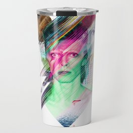 Glitchin Sane 001 Travel Mug