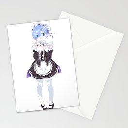 Rem - Re: Zero Stationery Cards