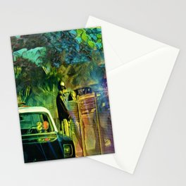 A Nightly Pull Over:The Casual Affair Stationery Cards