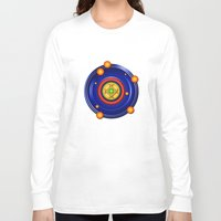 milky way Long Sleeve T-shirts featuring The Milky Way by Robin Curtiss