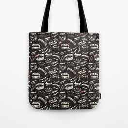 Monster Mouths Tote Bag
